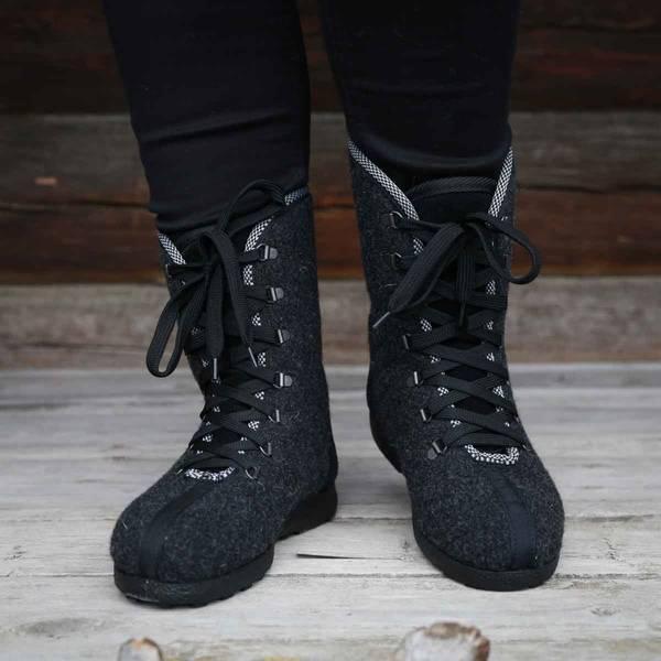 Bilde av Røroslabben sko GRÅ